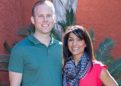 Dr. Michael Reid and Dr. Sharon Gurm