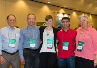 Left to Right: Dr. Davis Lamson, Dr. A. J. DeNault, Dr. Lindsay Adrian, Dr. Khan, Dr. Leanna Standish