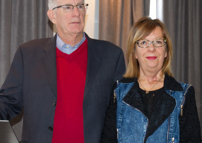 Prof. Tom Seyfried and Dr. Marlène Boudreault.