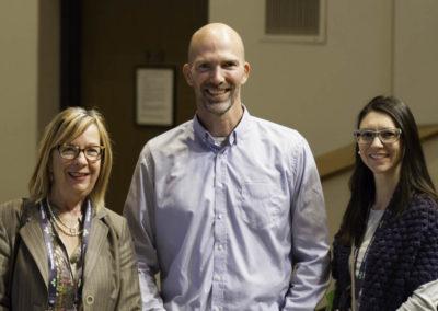 Mr. Travis Christofferson with integrative naturopathic doctors Dr. Marlène Boudreault and Dr. Marie-Soleil Noreau.