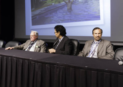Chemotherapy panel discussion with leading North American and European physicians.