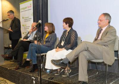 Q+A with expert panel: Prof. Henri Joyeaux, Mme. Joseé Blanchette, Jacqueline Lagacé, PhD and Dr. Laurent Schwartz.