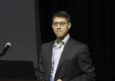 Dr. Akbar Khan presenting a lecture on dichloroacetate (DCA) as a metabolic therapy. Dr. Khan has treated the most cancer patients in the world with DCA, and published several groudbreaking papers on DCA use in humans.