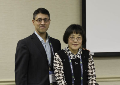 Dr. Khan with Dr. Young Ko, world's foremost researcher on metabolic cancer therapy with 3-bromopyruvate.