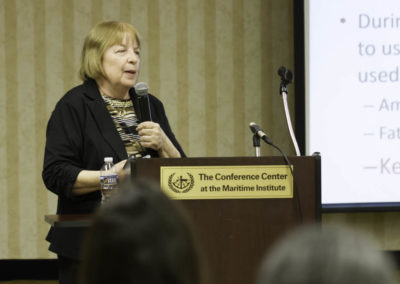 """Dr. Mary Newport, MD author of """"What If There Is A Cure for Alzheimer's Disease"""" presents about the value of fatty acids in optimizing brain function."""