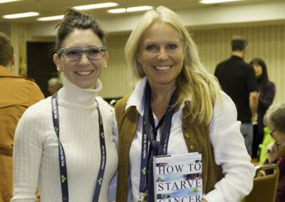 Dr. Noreau with Jane McLelland.