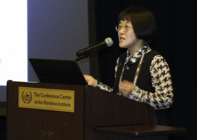Dr. Young Ko presenting her extensive research on 3-BP for cancer therapy.