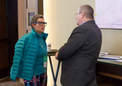 Dr. Sveta Silverman speaking with Dr. Paul Anderson