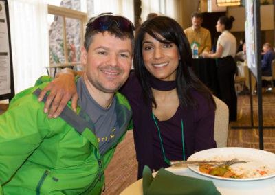 Dr. Matt Pyatt and Dr. Sharon Gurm