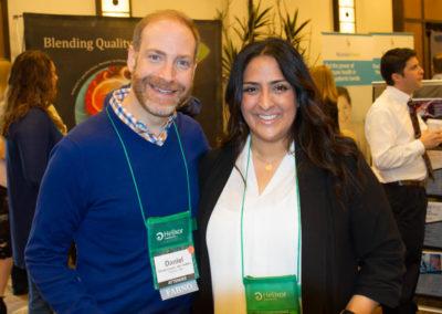 Dr. Dan Lander with Dr. Meighan Valero