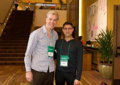 Dr Khan and Dr. Sean Ceasar