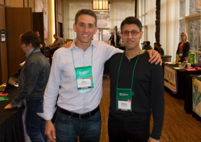 Dr. Khan and Dr. Dan Rubin