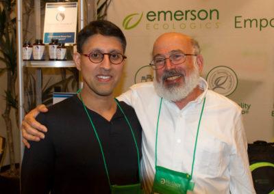 Dr. Khan with Dr. Jacob Schor