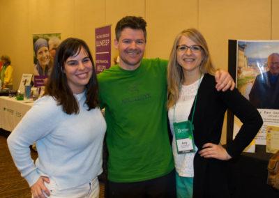 Dr. Holly Fennell, Dr. Matt Pyatt and Dr. Amy Velichka