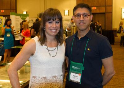 Dr. Jordan Robertson with Dr. Khan