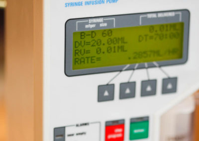 Computerized infusion pumps for safety and efficiency
